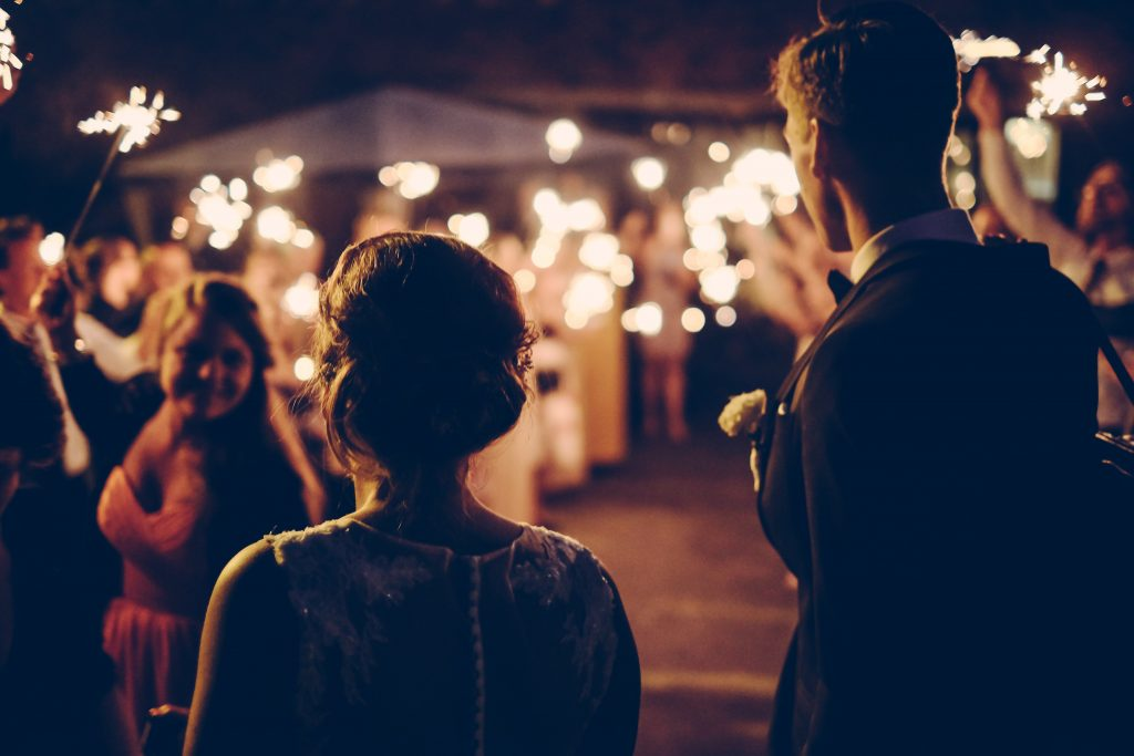 What Are the Total Guest Counts Associated with Small, Medium, and Large Destination Weddings